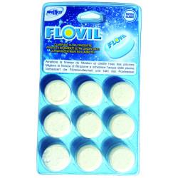 FLOCULANT PASTILLES x 9 FLOVIL