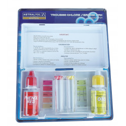 TROUSSE ANALYSE PH/CL GOUTTE