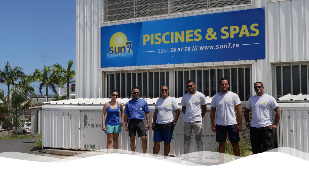L'équipe du showrom de Saint-Pierre